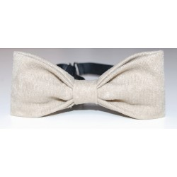 BEIGE BOW TIE FOR CHILD