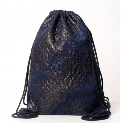 QUILTED ECO LEATHER SACK/BAG