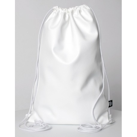 ECO LEATHER WHITE SACK/BAG