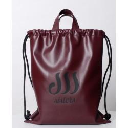 ECO LEATHER BLACK SACK/BAG