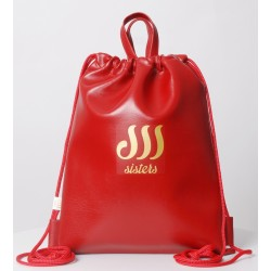 ECO LEATHER RED SACK/BAG